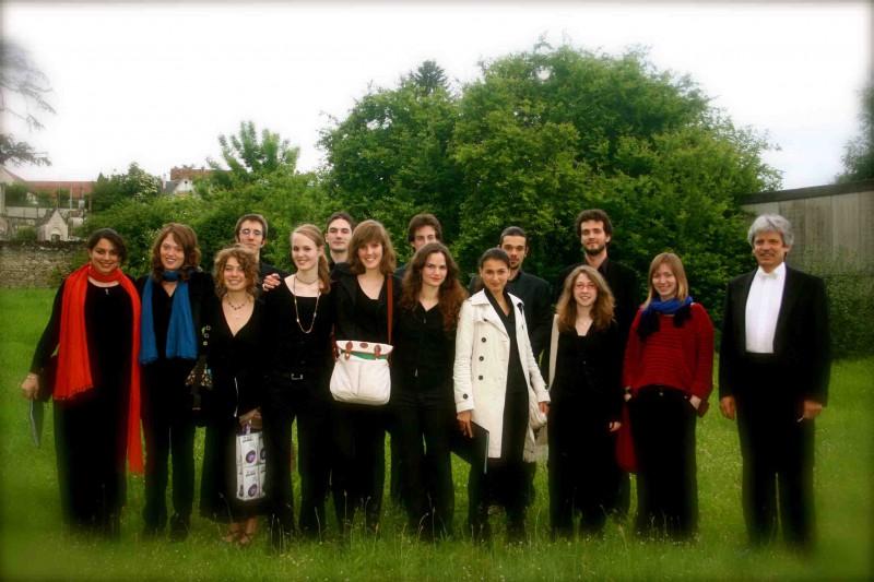 Chœur de chambre Poulenc, Montrichard 2008